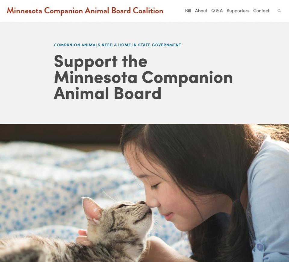 Support the Minnesota Companion Animal Board