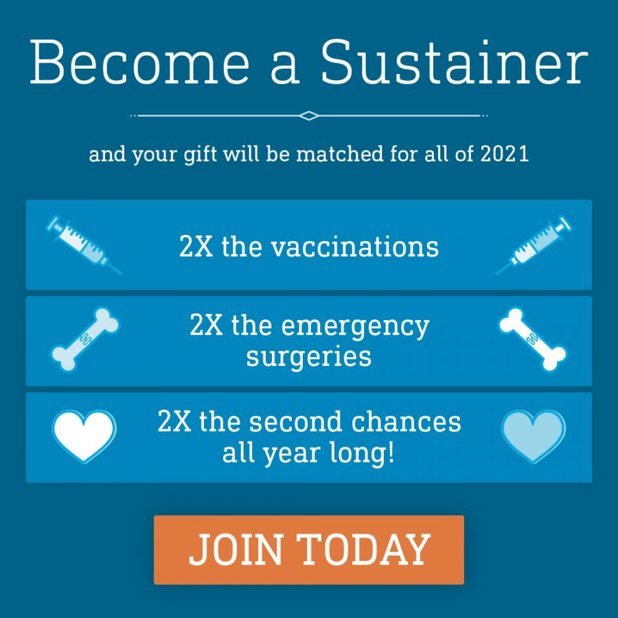 Become a Sustainer today